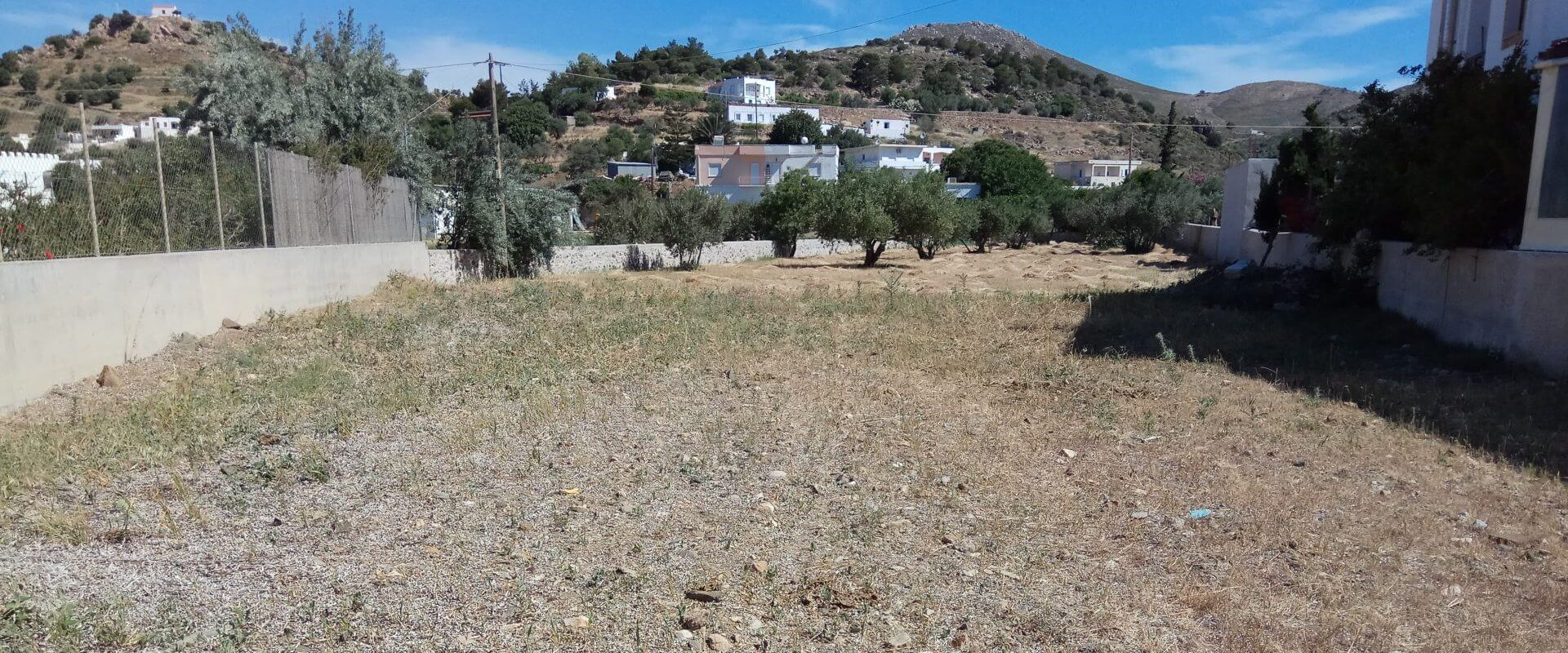 Seaside plot in Leros island L367
