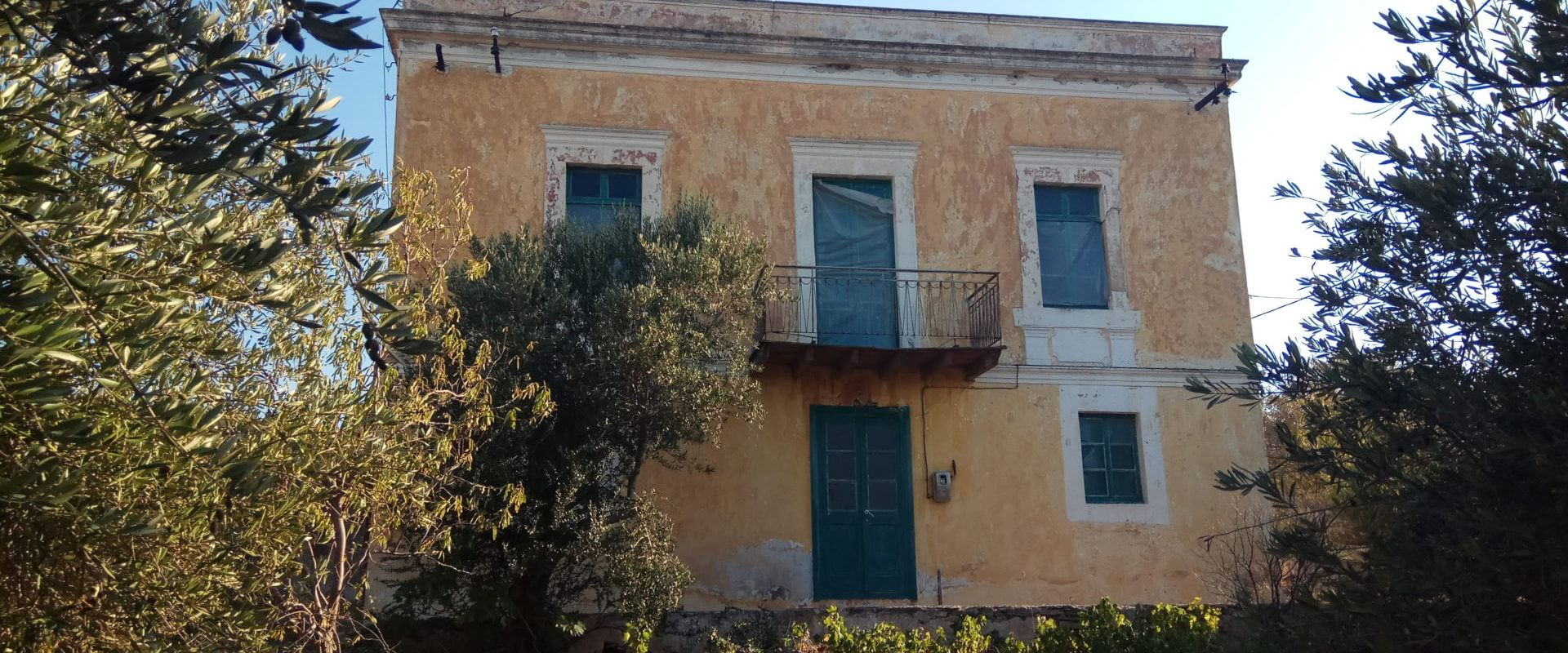Maison Neoclassique in Leros L593