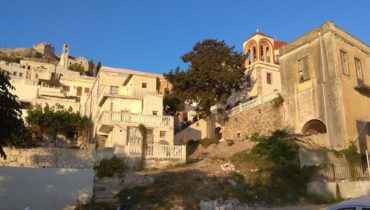 Neoclassical house in Platanos Leros L599