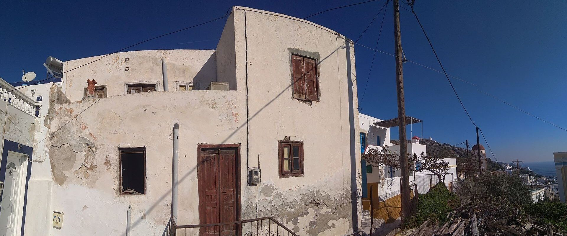 Traditional house in Leros island L 657