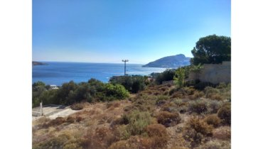 Sea view plot Leros L 688