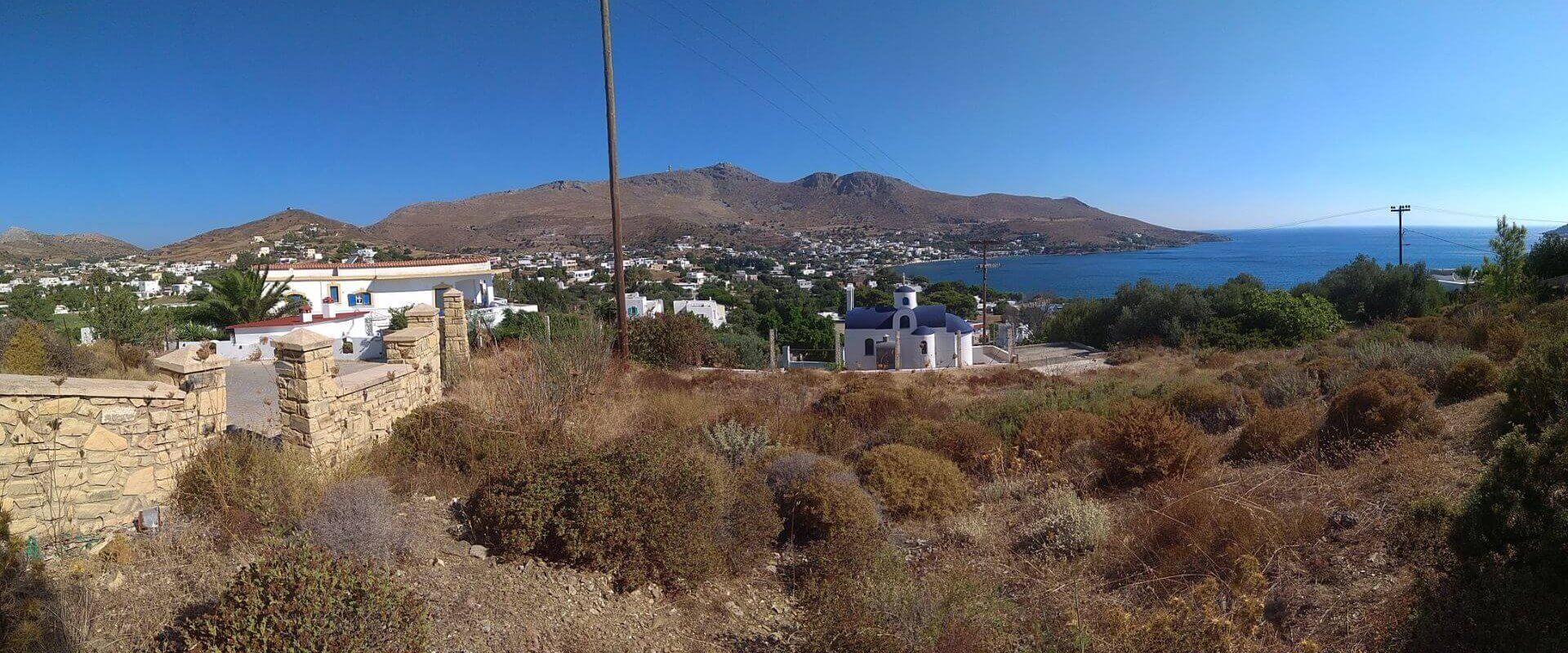 Sea view plot Leros L 688
